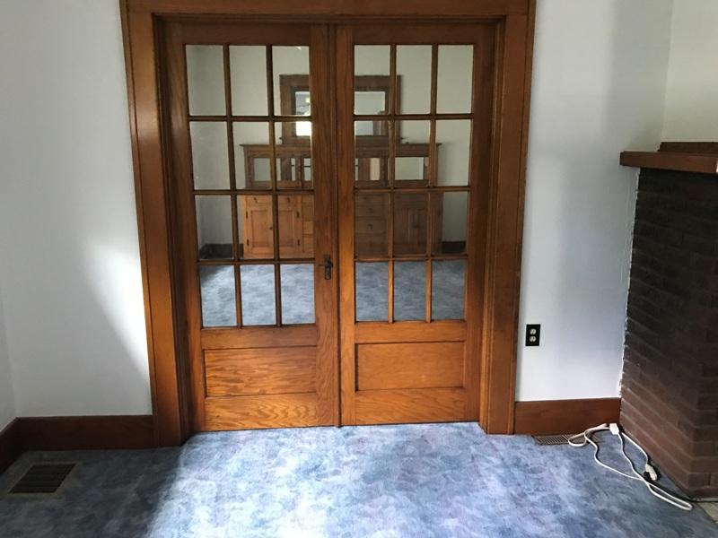 212 S. Hanson Blvd. Dining Room Doors