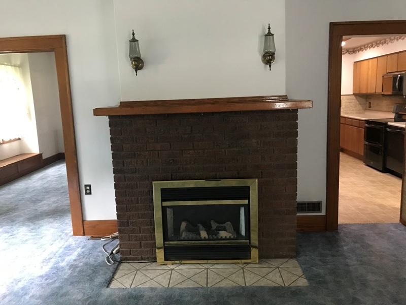 212 S. Hanson Blvd. Fireplace